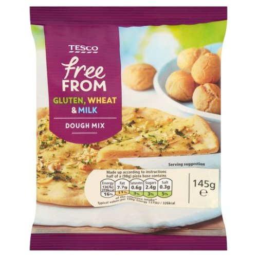 Tesco Free From Dough Mix 145G