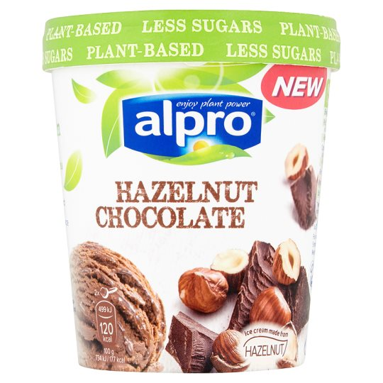 Alpro Hazelnut Chocolate Ice Cream Alternative 500m My