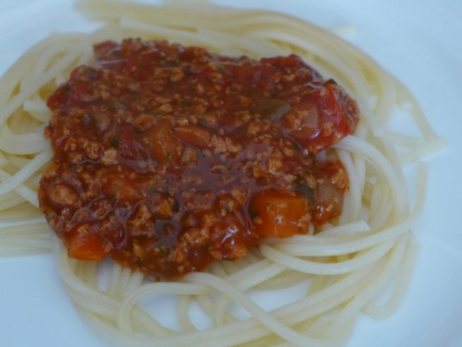 Tesco Meat Free Bolognese Review Tinned Vegan Mince My Vegan