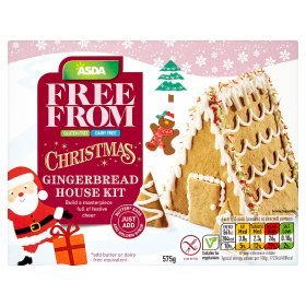 Christmas Gingerbread House Kit.Asda Free From Christmas Gingerbread House Kit My Vegan
