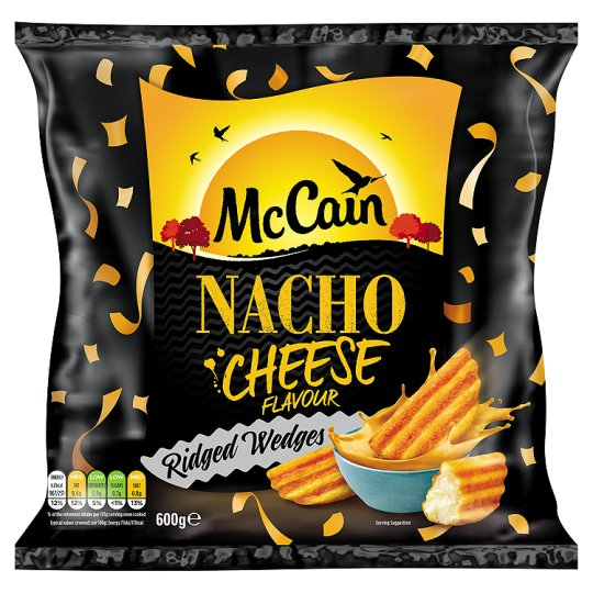 Mccain Wedges Nacho Cheese 600G | My Vegan Supermarket