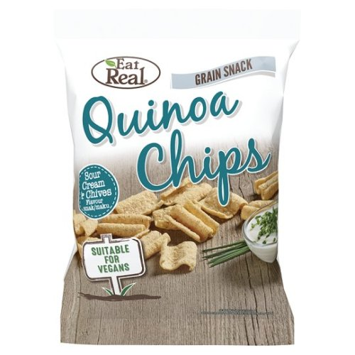 Eat Real Quinoa Chips Cream And Chives 30G