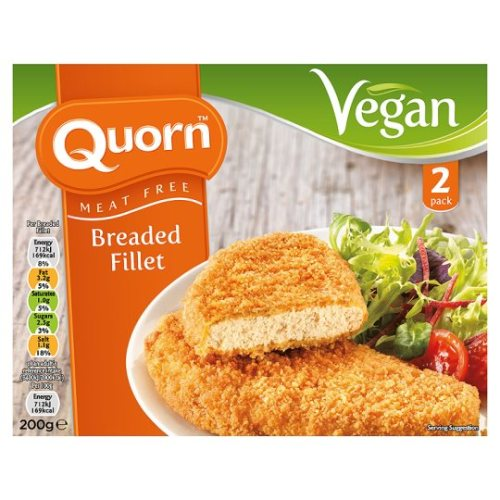 Quorn Vegan Breaded Fillet 200G