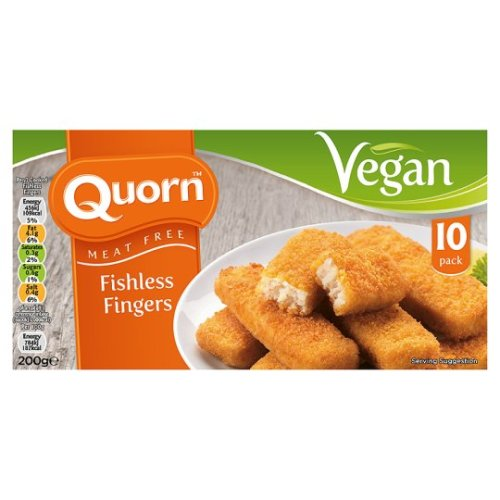 Quorn Vegan Fishless Fingers 200G