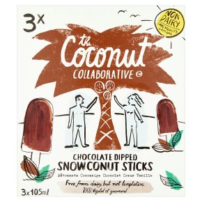 The Coconut Collaborative Snowcoconut Sticks 3x105ml