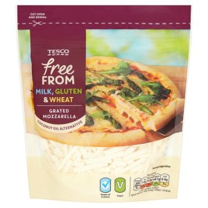 Tesco vegan Mozzarella packet