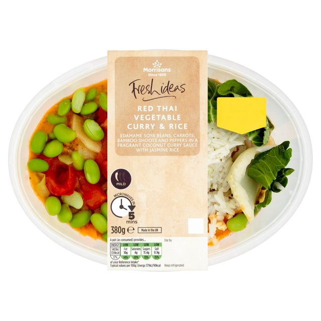 Morrisons Red Thai Vegetable Curry 380g