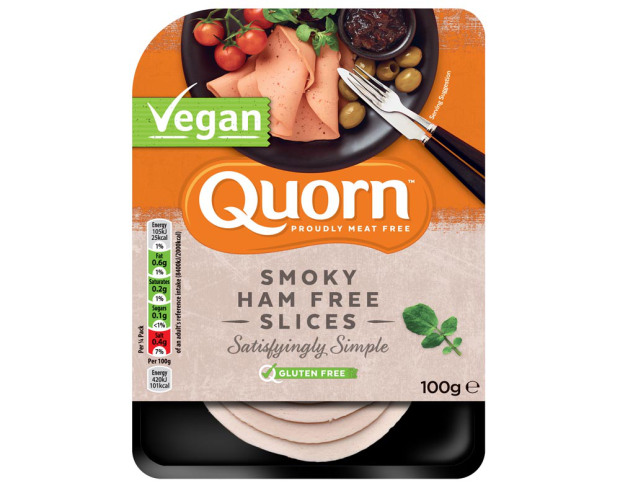 Image result for quorn ham vegan