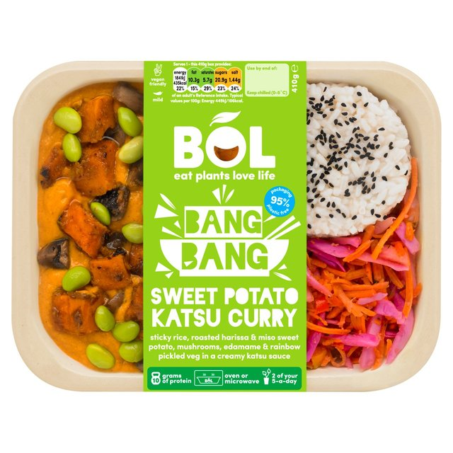 Bol Bang Bang Sweet Potato Katsu Curry 410g My Vegan
