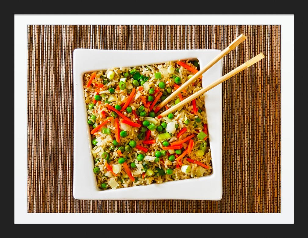 Easy Vegetarian Fried Rice Finally The Secret to Perfect Fried Rice Vegetarian Gluten Free #myvegetarianfamily