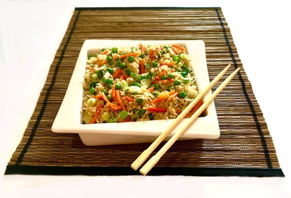 Easy Vegetarian Fried Rice Ready in Minutes Finally The Perfect Fried Rice Recipe Vegetarian #myvegetarianfamily
