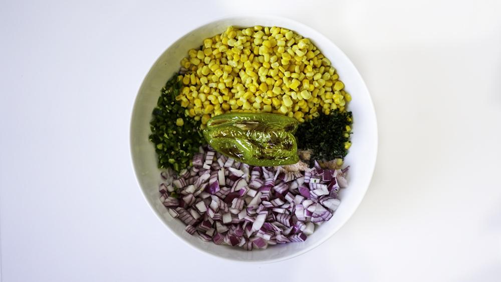Corn Salsa Easy Homemade GF Vegan