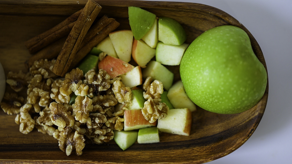 Breakfast Quinoa Bowl Apple Cinnamon Vegan Gluten Free