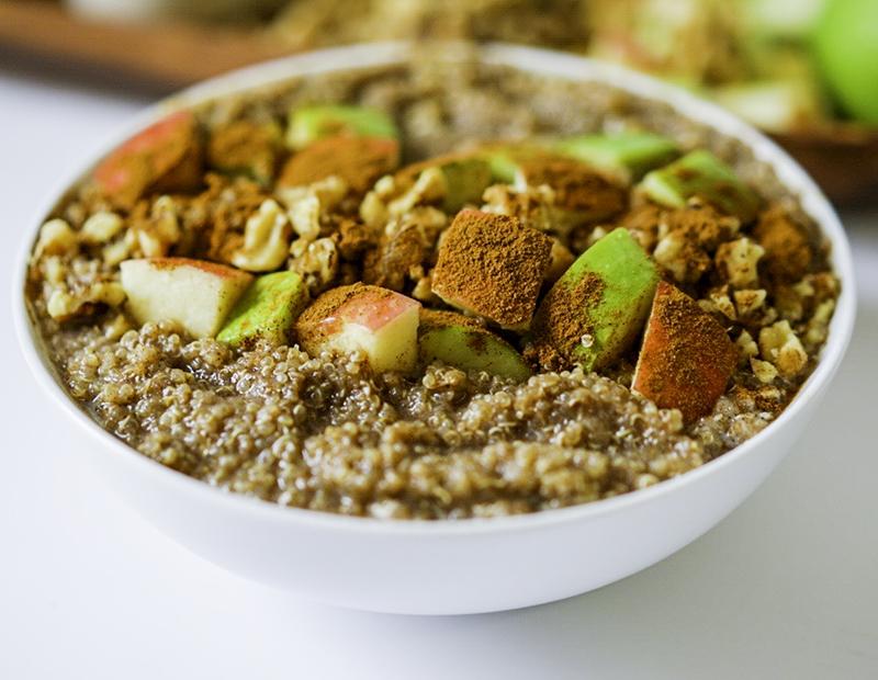 Breakfast Quinoa Vegan Gluten Free #myvegetarianfamily