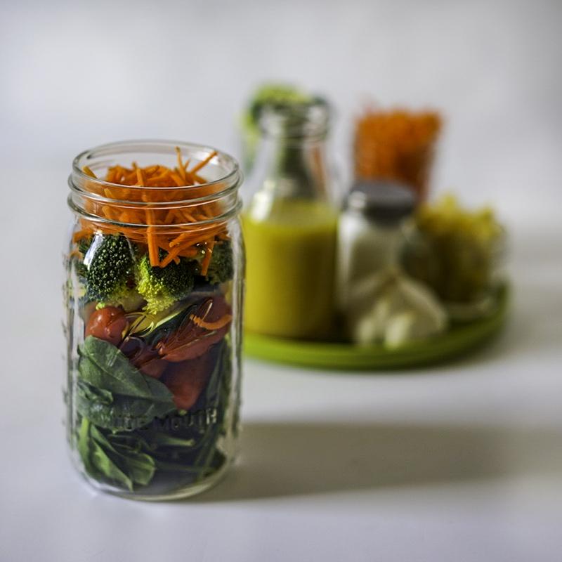 Make Your Own Vegan Salad Dressing Meal Prep #myvegetarianfamily