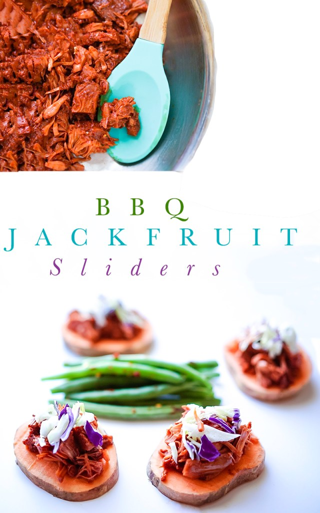 BBQ Jackfruit Slider Recipe #myvegetarianfamily #vegan