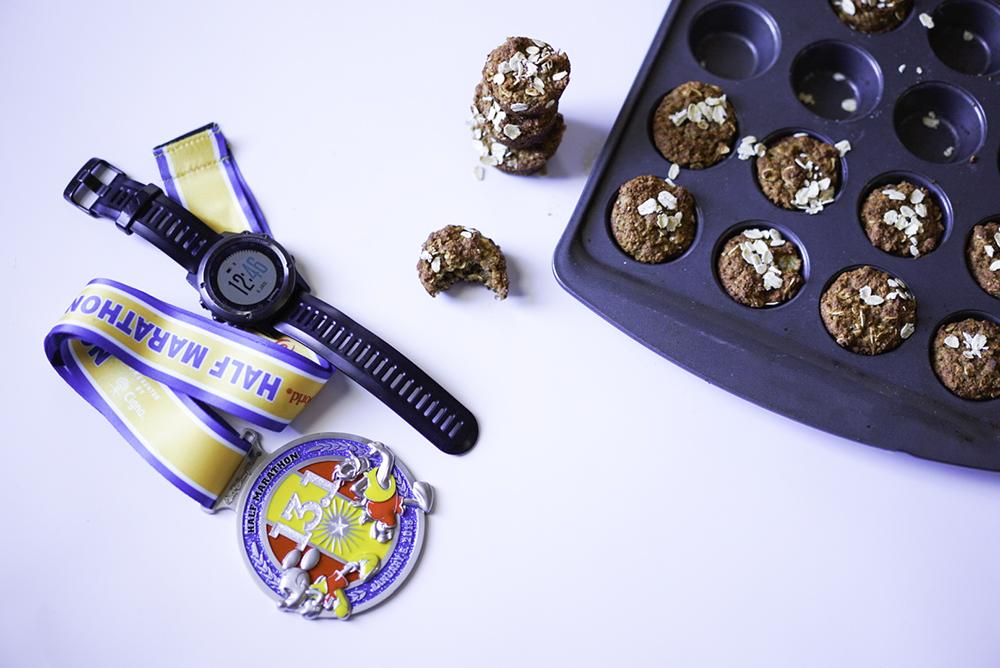 Half Marathon Mini Muffins #eatbettertorunbetter