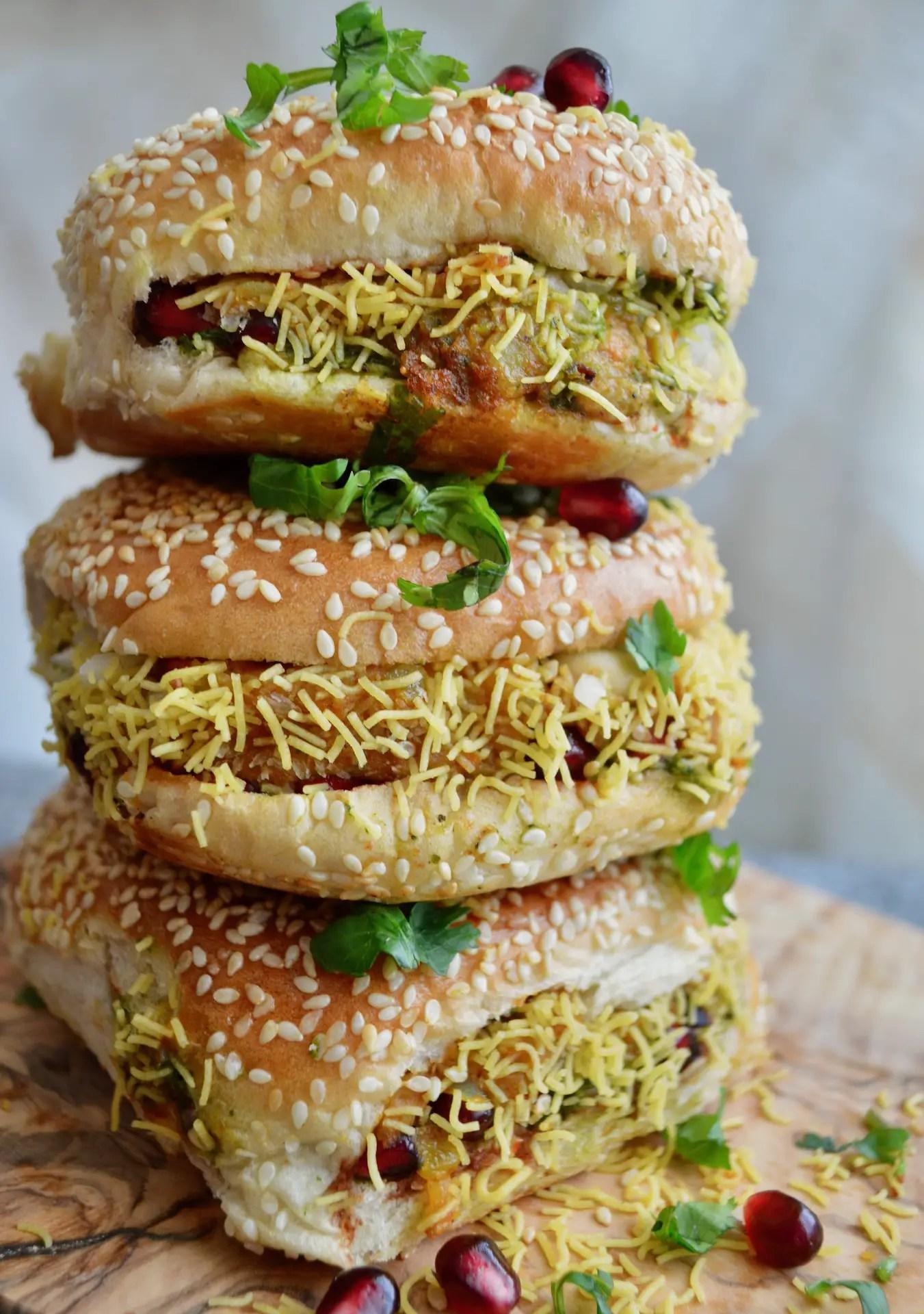 Kachchi Dabeli - My Vegetarian Roots Kachchi dabeli