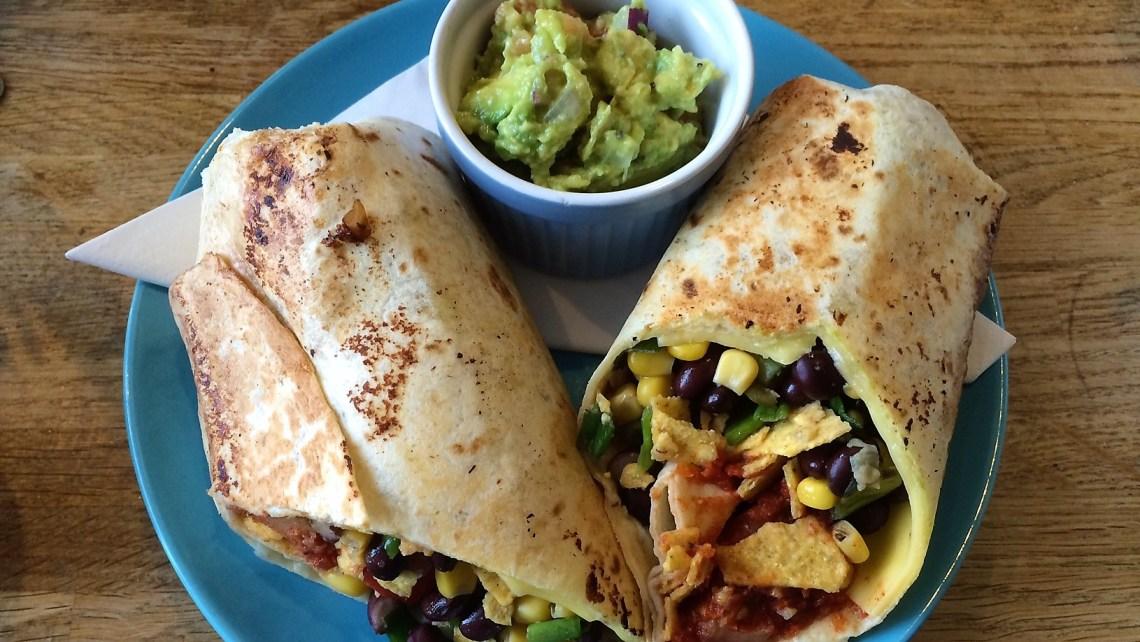 vegan burrito edinburgh