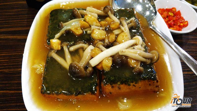 tofu-mushroom-sauce