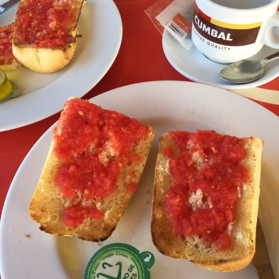 vegan breakfast cordoba