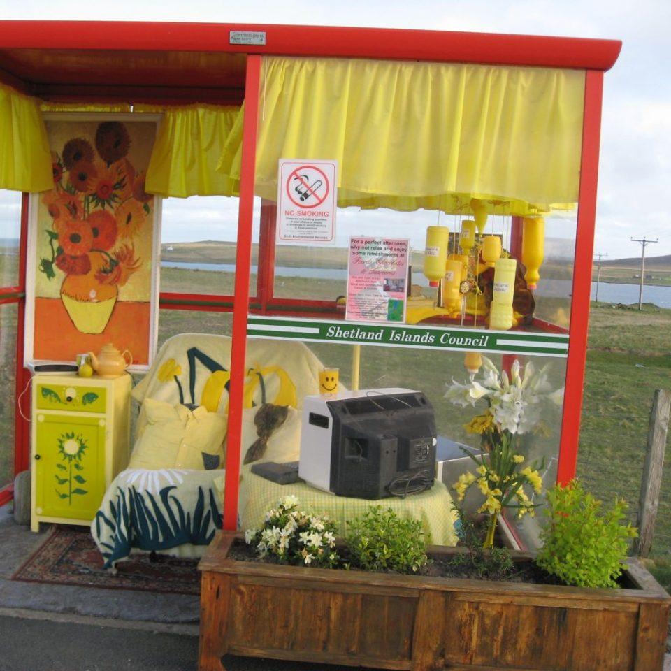 scotland bus stop