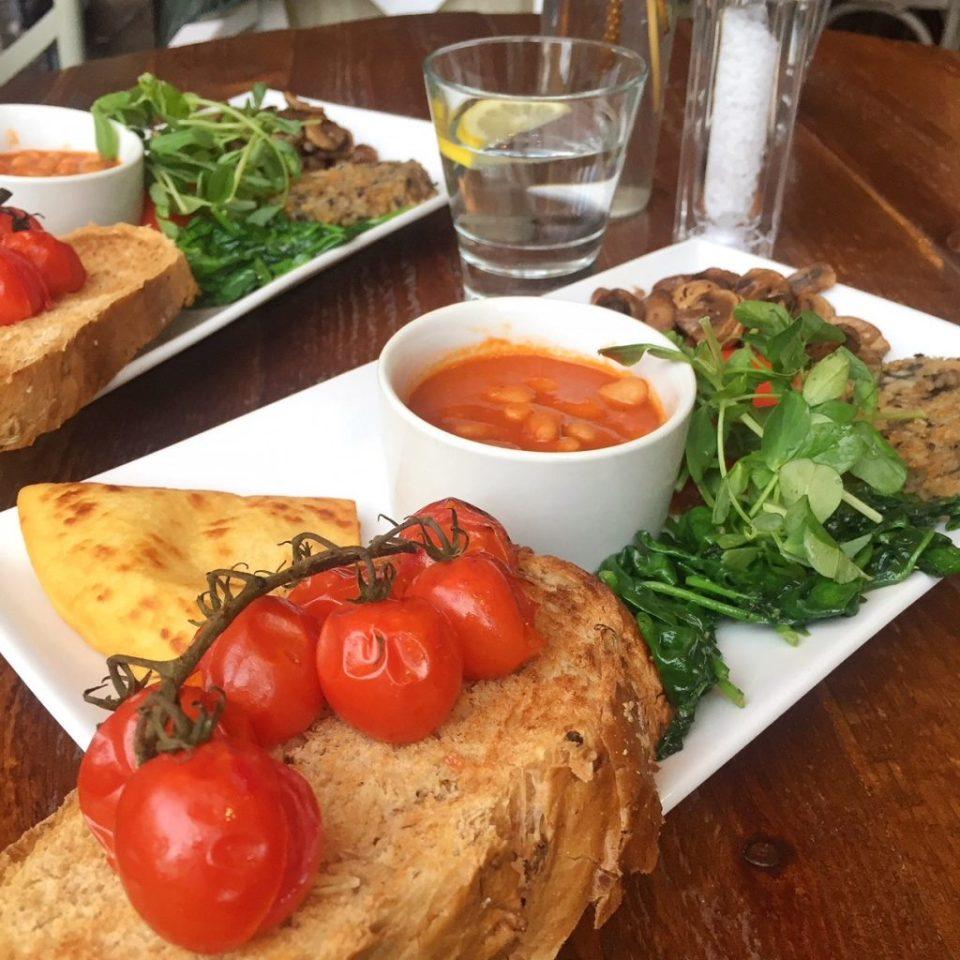 thrive vegan breakfast
