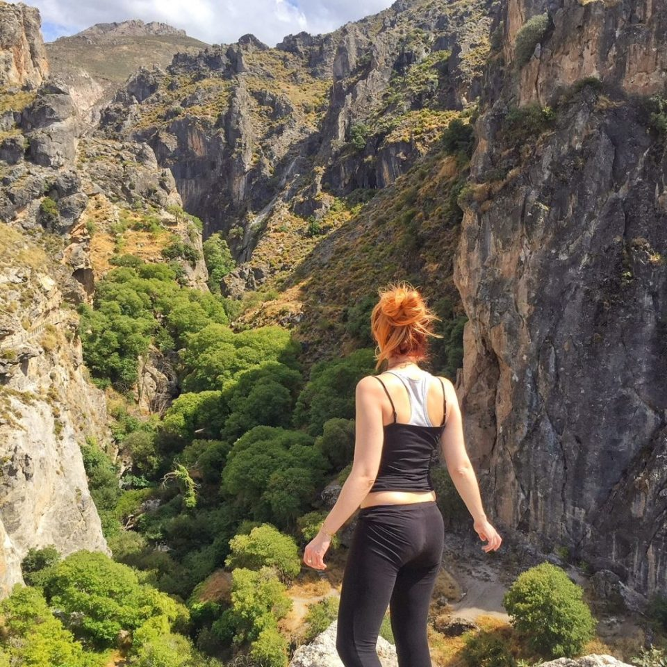 Monachil gorge walk