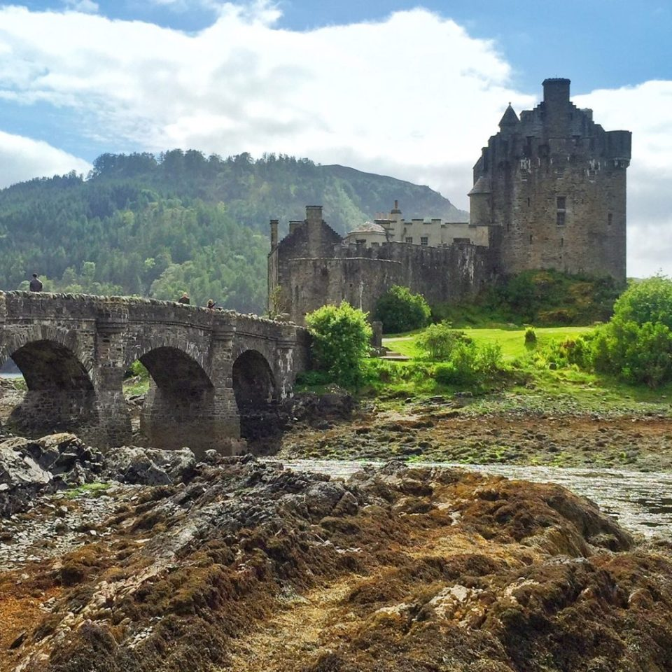 eileen donan castle scotland