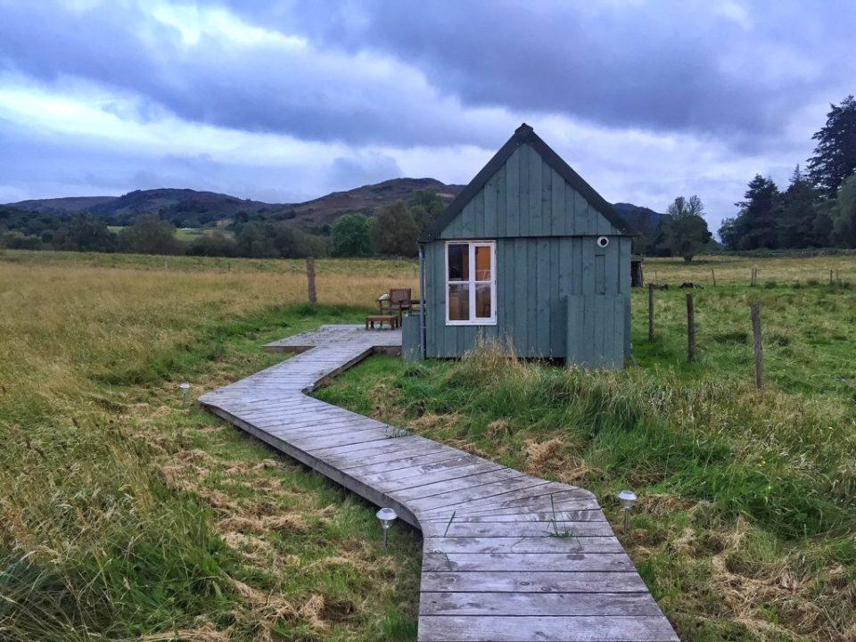 airbnb cottage scotland