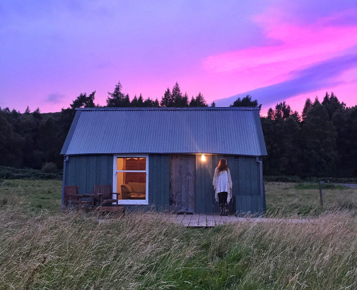 airbnb scottish highlands