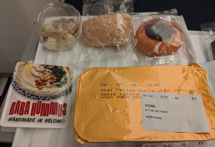 finnair vegan food
