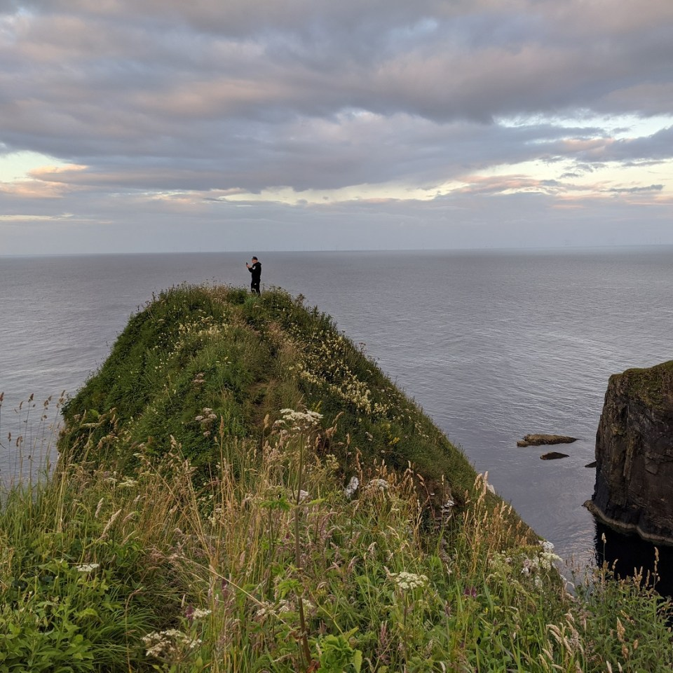 whaligoe waterfall viewpoint