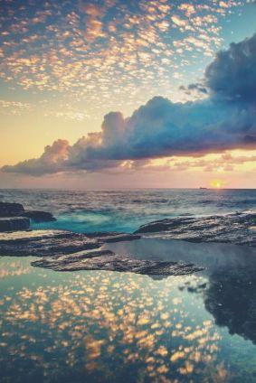 Sunrise, Bangalley Headland, Northern Beaches Sydney NSW.