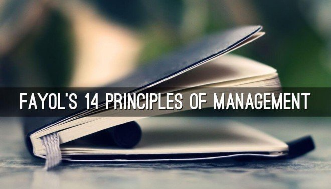 fayol's 14 principles of management Private schools using henri fayol's principles of management and is based on  the case  19–20) developed 14 general principles of management which.