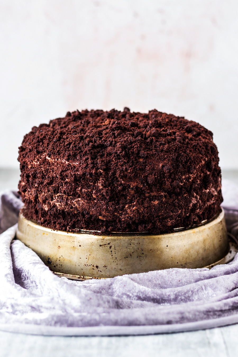 Vegan Brooklyn Chocolate Blackout Cake