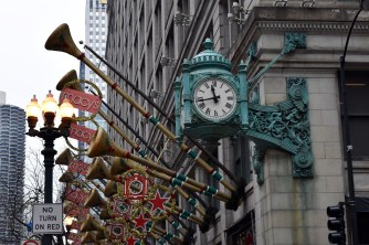 Macy's annual Christmas decorations bring State St. to life during the holiday season.