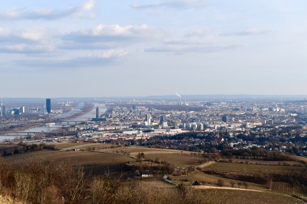 On the left is the Danube River.