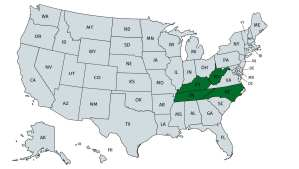 states where I'm looking for land