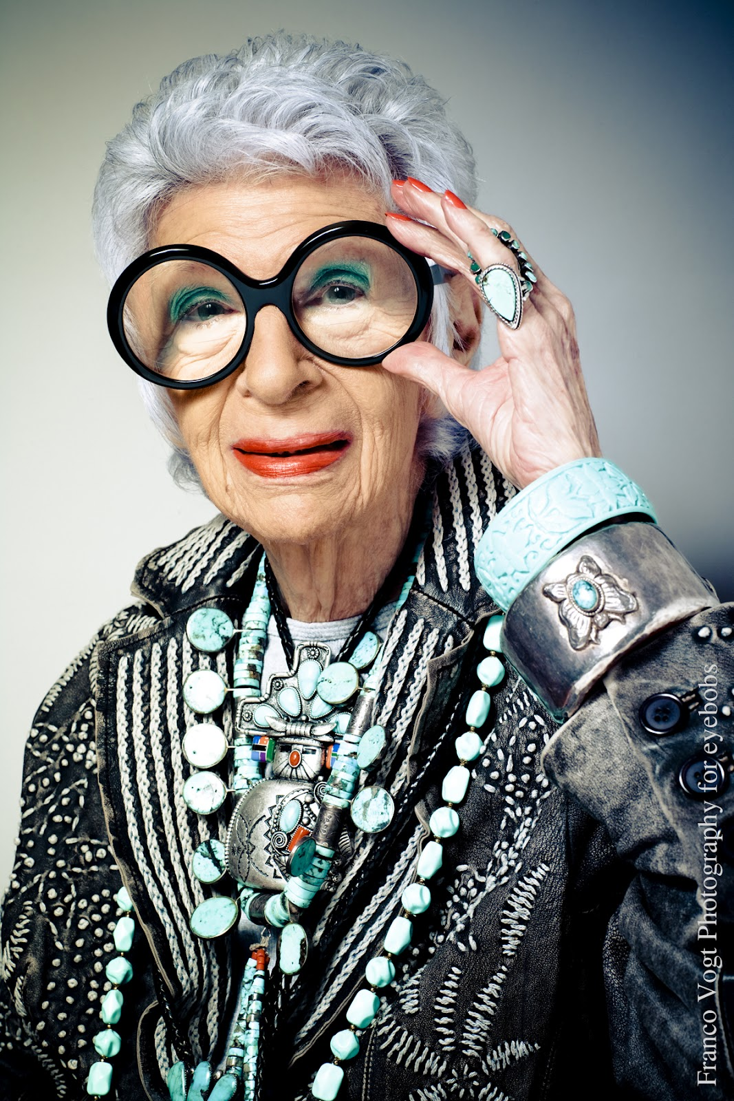 d639817d33 I just saw the Iris Apfel movie and I loved it! She is an eccentric woman  who loves fashion and has mostly become famous in her later years for her  sense of ...