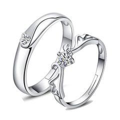 Make your Bond Stronger with White Gold Promise Rings