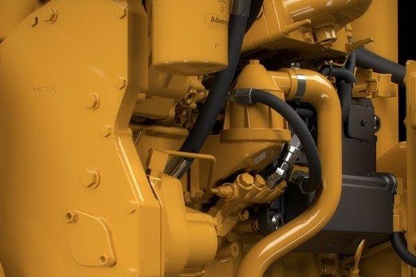 Caterpillar diesel generators.