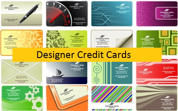 Designer Credit Cards- Turn Your Normal Credit Card In Personalized Form