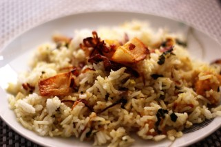 Two Recipes Using Basmati Rice