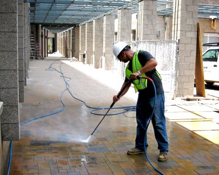 What Benefits Are Gained When Hiring Commercial Pressure Washing Services