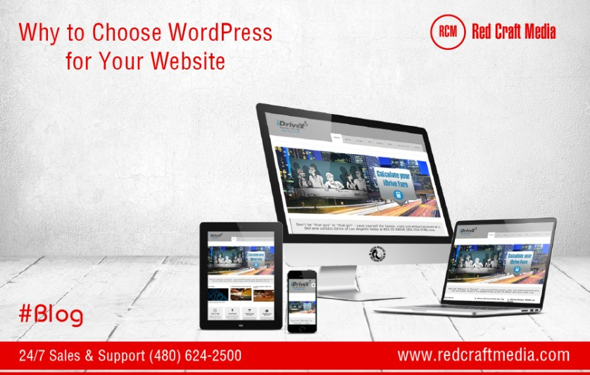 Why to Choose WordPress for Your Website
