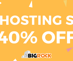 BIG Hosting Sale Extended – Flat 40% Off!