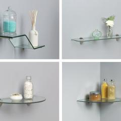 Great ideas For Incorporating Glass Shelves In Your Space