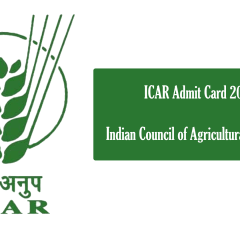 ICAR admit card going to be declared soon