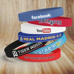 Buy Skin Friendly Custom Rubber Bracelets Online!